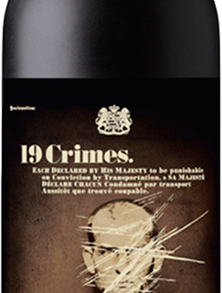 19 Crimes - The Banished Dark Red Blend