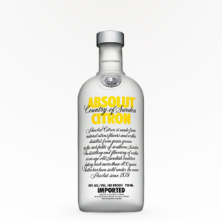 Absolut – Citron Citrus Vodka