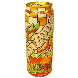 Arizona  Half Iced Tea & Half Mango
