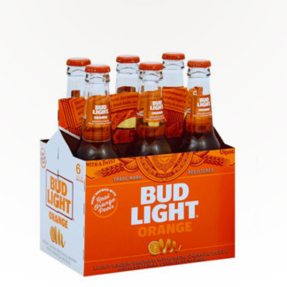 Bud Light Orange – Light Lager Brewed With Orange Peels