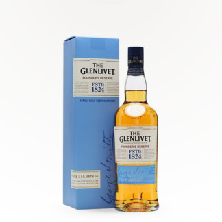 Glenlivet Founder's Reserve – Single Malt Scotch Whiskey