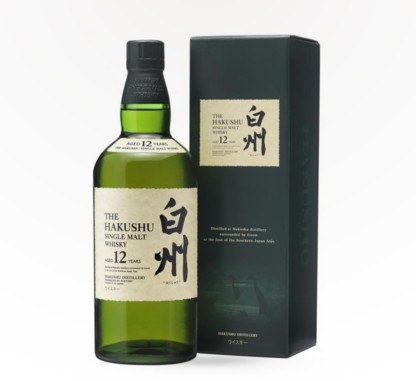 Hakushu – 12 Year Single Malt Japanese Whiskey