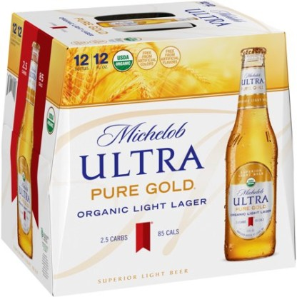 Michelob - Ultra Pure Gold Bottle