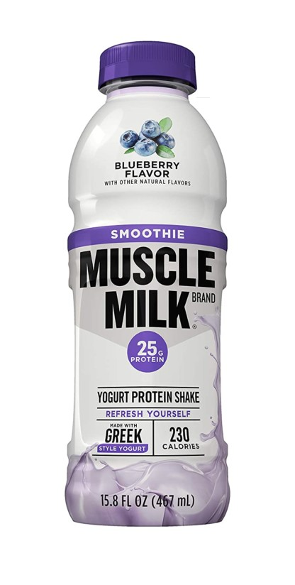 Muscle Milk Smoothie Blueberry Flavor